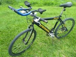 Bike Speed 18 marchas (ACEITO CARTÃO)