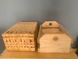 Caixas porta objetos