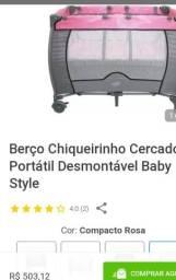 Título do anúncio: Berço chiqueirinho cercado baby Style