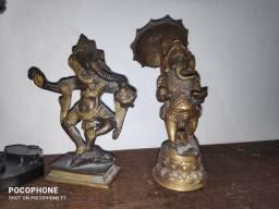 Título do anúncio: Ganesha Em Bronze aprox. 13 cm