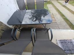 Mesa de Jardim - 6 cadeiras