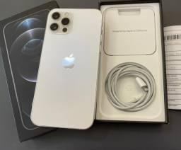 Título do anúncio: Iphone 12 Pro 256gb Silver com 20 dias de ativo./ aceito troca em 7 ou superior.