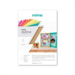 Papel Color Plus Mimo A4 - 30 folhas - Madrid