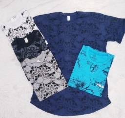 Camisas. Tactel . Shorts  mauricinho.