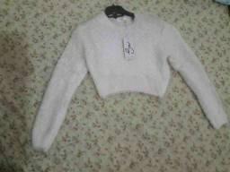 Suéter felpudo
