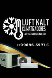 Título do anúncio: Limpeza e higienização  de ar condicionado  e climatizadores