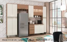 Título do anúncio: Cozinha Napoli 5 peças 100% MDF