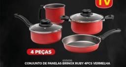 Título do anúncio: Panela brinox kit com 4