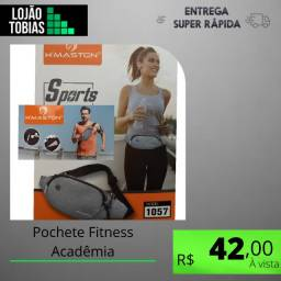 Título do anúncio: Pochete Fitness Acadêmia Porta Celular Corrida Sport