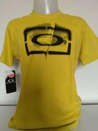Título do anúncio: Camiseta Surf Oakley Amarela