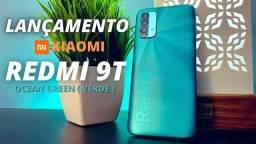 Título do anúncio: Redmi 9T Verde 128GB/6GB