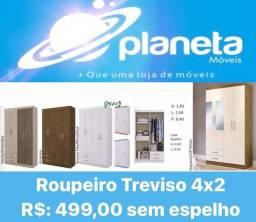 Título do anúncio: ROUPEIRO TREVISO 4X2 NOVO / AQUÁRIO AQUÁRIO