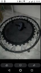 Título do anúncio: Jump 32 molas + roda Abdominal