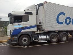 Título do anúncio: Scania G420 6x2 ano suspensão a ar