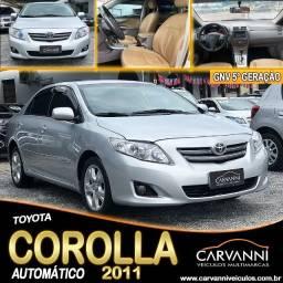 Toyota Corolla Automático 2011 com GNV 5° Geração