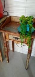 Título do anúncio: Mesa canto madeira de demolição