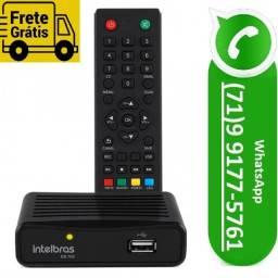 Conversor Digital Para Tv Gravador Intelbras Cd700 Hdmi Full HD (NOVO)