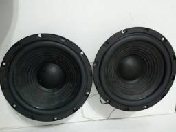 Vendo par de alto-falante LG original de 8 polegadas r$ 150