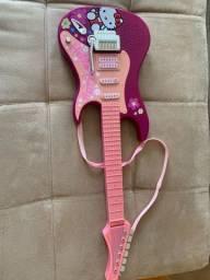Título do anúncio: Guitarra hello Kitty