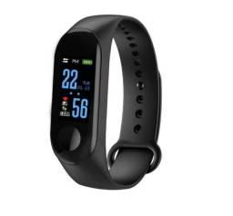 Smartwatch Pulseira Inteligente Smartband M3 - Pronta Entrega Prova D'água.