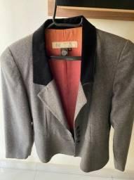 conjunto nina ricci  vintage -  blazer e saia