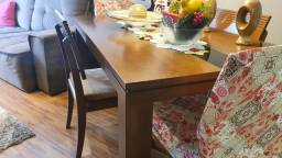 Título do anúncio: Mesa 6 cadeiras de excelente qualidade