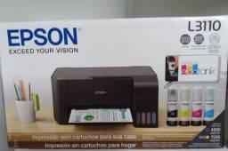 Impressora Multifuncional Epson EcoTank L3110 (Nova e Lacrada)