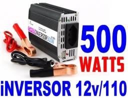 Título do anúncio: Inversores 500w / 1000W / marca LeBOSS, a melhor / 12v / 110v...