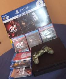 Título do anúncio: PS4 1TB ESTADO DE NOVO