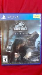 Jogo PS4  seminovo JURASSIC WORLD evolution !!!