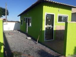 (@le1144) Casa de 1 quarto em São Pedro da Aldeia, Com estrutura para segundo andar.