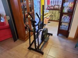 Simulador de Caminhada Elíptico Magnético Concept E Dream Fitness - Preto