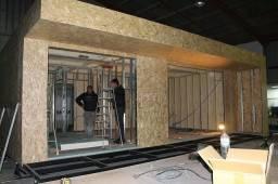 Construção a seco de casas no sistema Light Steel frame