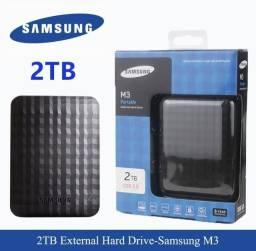Título do anúncio: HD externo Samsung 2 Ter - em oferta