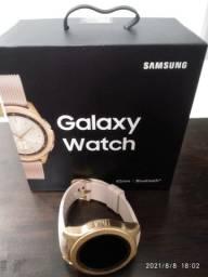 Título do anúncio: Galaxy Watch bluetooth rose gold