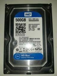 HD 500GB Formatado 100% OK