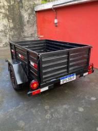 Carroça para carro de passeio / caminhonete