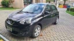 March 1.0S Nissan, 2014/2015, Preto, Único Dono