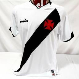 Camisa Vasco da Gama Diadora Branca Futebol Original 2019/20