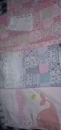 Três lençóis de berço 30 reais