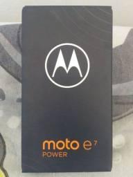 Moto E7 Power lacrado com 1 ano de garantia