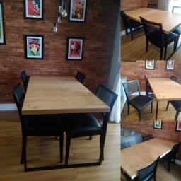 Título do anúncio: Mesa com 4 cadeiras New Forest (Usada)