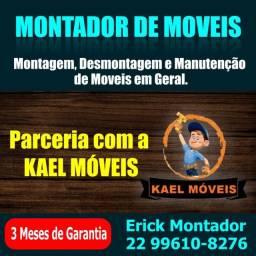 Título do anúncio: Montador de móveis em Macaé