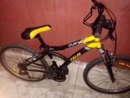 Bicicleta Caloi Max front aro 24 21 marchas 7 velocidades
