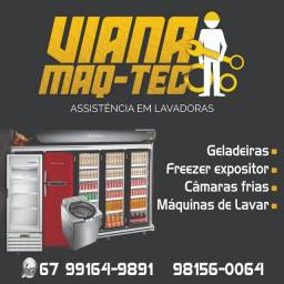 Título do anúncio: Conserto e Manutenção de Geladeira/Frezzer/Câmara Fria