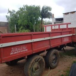 Título do anúncio: Vende-se carreta Vencedora tandem 5 toneladas