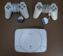 Playstation 1 + 15 Jogos (Apenas Venda)