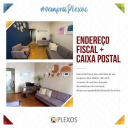 Endereço virtual na Plexos Escritório Virtual e Corworking R$ 750,00  à vista.