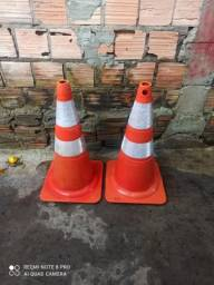 2 cones