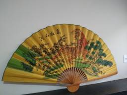 Leque Japonês Decorativo.